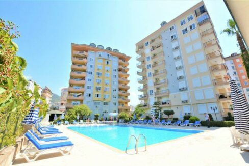2 Bedroom Apartment For Sale In Alanya Center
