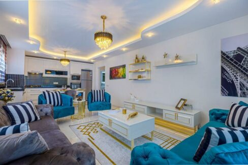 3 Bedroom Luxurious Furnished Apartment For Sale In Alanya