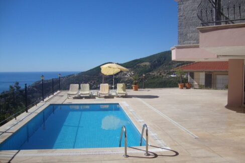 5 Bedroom Furnished Villa For Sale In Alanya With Private Pool