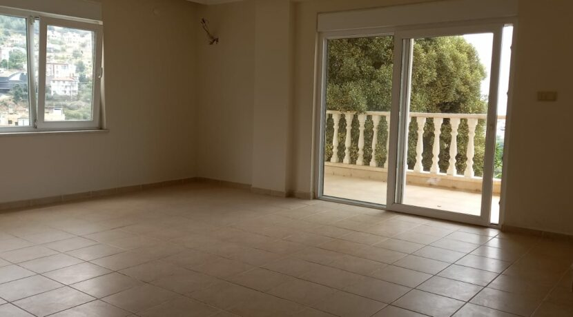Duplex Apartment With Seaview And Castle View For Sale In Alanya