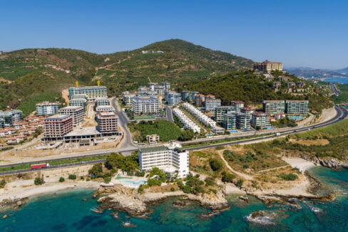 1+1,2+1 And 3+1 Apartments For Sale In Newest Project Of Alanya Kargıcak