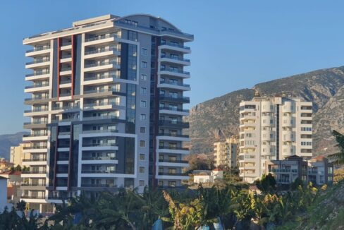 2 Bedroom Luxurious Apartment With Seaview For Sale In Alanya