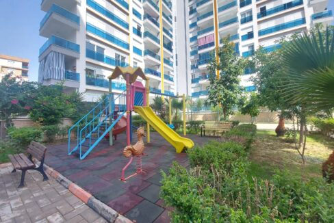 3 Bedroom Duplex Apartment With Seaview For Sale In Alanya
