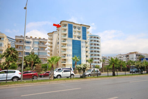 Beachfront Penthouse Apartment For Sale In Alanya Turkey