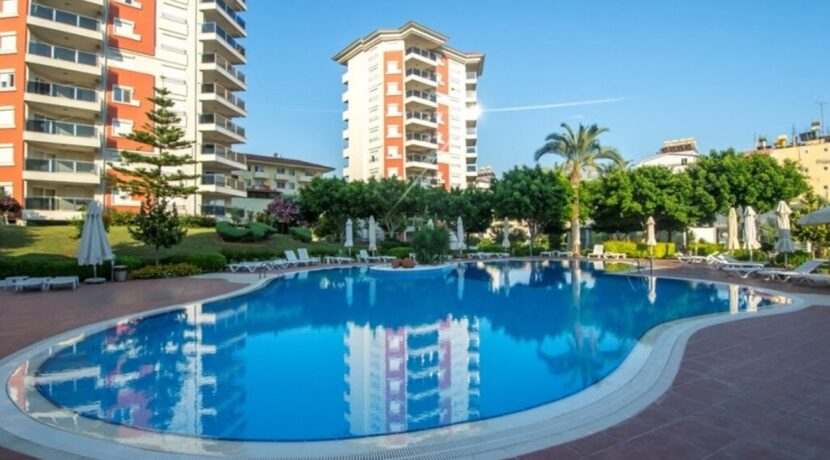Fully Furnished 2 Bedroom Apartment For Sale In Alanya With Seaview