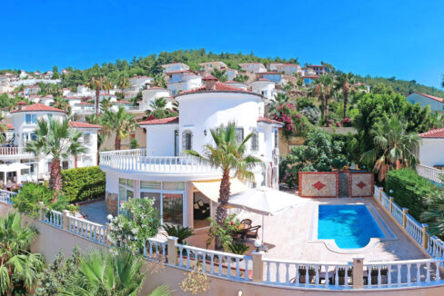 Furnished 3 Bedroom Villa For Sale In Alanya With Private Pool