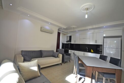 Furnished Cheap 2 Bedroom Apartment For Sale In Alanya