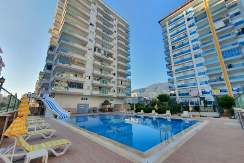 Luxury Furnished One Bedroom Property For Sale In Alanya