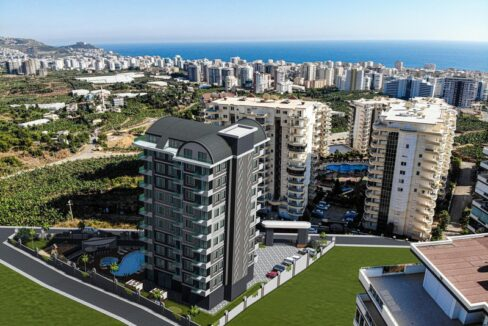 New Project In Alanya With Payment Plan With Many Amenities
