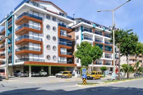 One Bedroom Furnished Apartment For Sale In Alanya Cleopatra