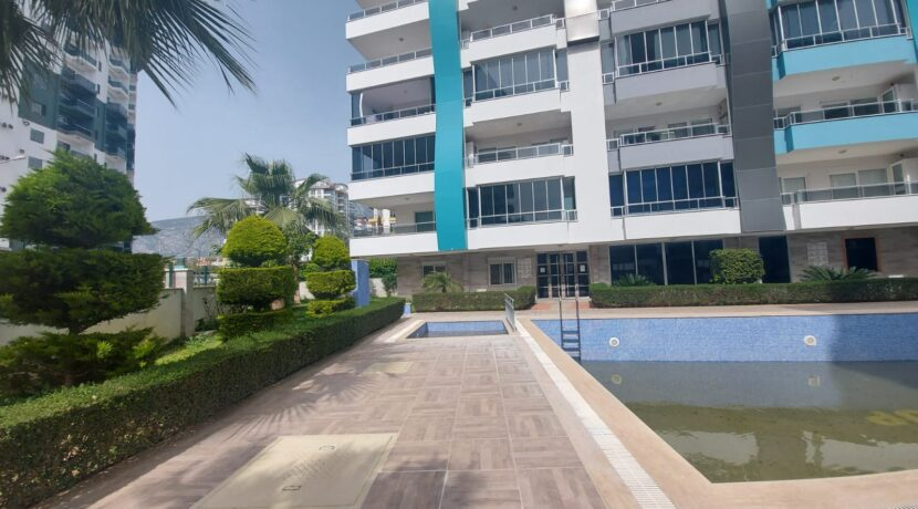 One Bedroom Non Furnished Apartment For Sale In Alanya Mahmutlar