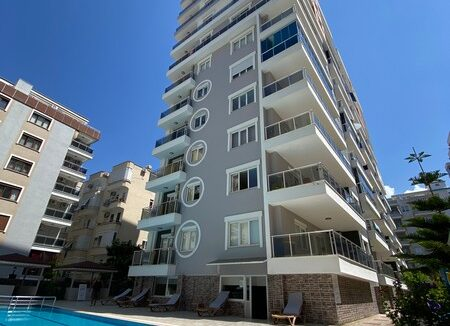 Spacious One Bedroom Furnished Apartment For Sale In Alanya