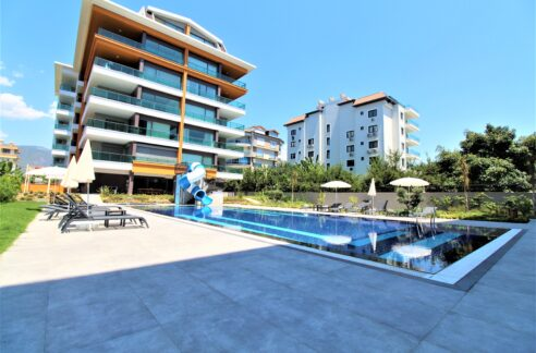 1 Bedroom Close To Beach Apartment For Sale In Alanya Kestel