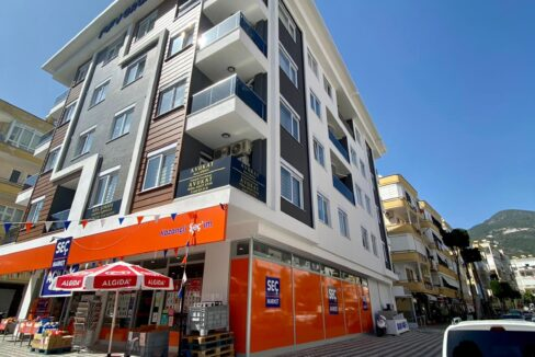 1 Bedroom Unfunished Apartment For Sale In Alanya