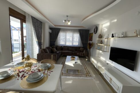 3 Bedroom Brand New Furnished Apartment For Sale In Alanya