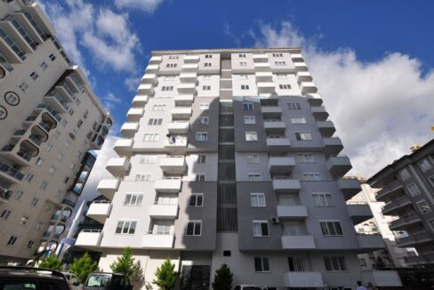 Brand New 3 Bedroom Apartment With Seaview For Sale In Alanya