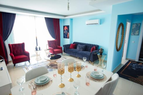 Brand New Furnished One Bedroom Apartment With Seaview