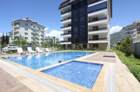 Fully Furnished Apartment For Sale In Alanya Close To Beach
