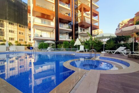 Furnished Apartment For Sale In Meryem Residence Alanya