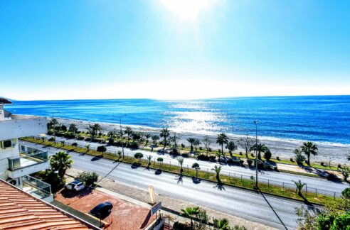 Furnished Beachfront Duplex Apartment For Sale In Aanya