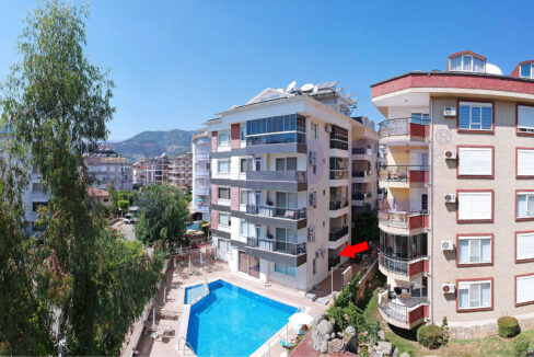 Furnished One Bedroom Apartment For Sale In Alanya Oba