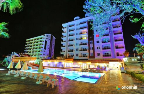 Furnished Studio Apartment For Sale In Orion Hill Alanya