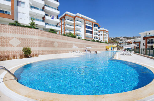 Modern Furnished Flat For Sale In Alanya With Ocean View