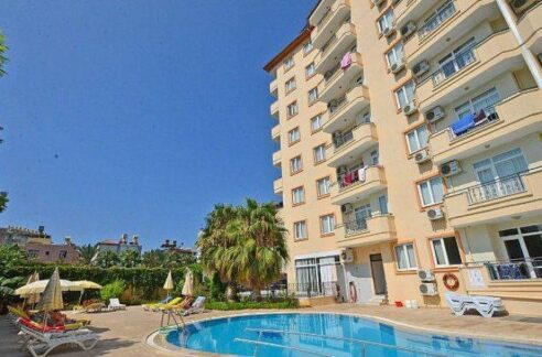 1 Bedroom Furnished Apartment For Sale In Alanya Centrum