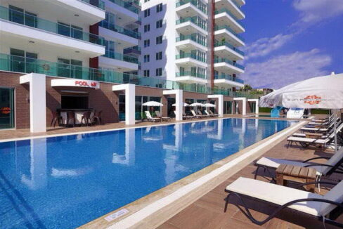 1 Bedroom Luxury Apartment For Sale In Alanya Tosmur