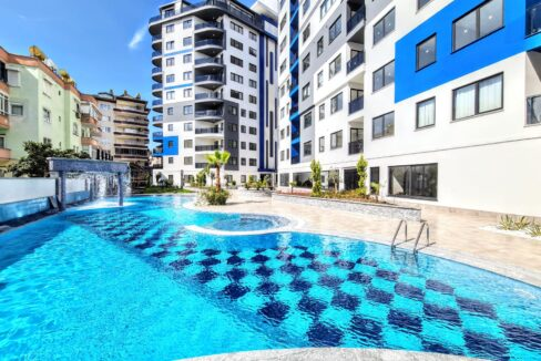 2 Bedroom Furnished Apartment For Sale In Alanya Centrum