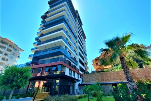 2 Bedroom Luxury Apartment For Sale In Alanya Tosmur