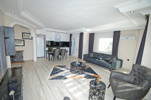2 Bedroom Luxury Furnished Apartment For Sale In Alanya Cikcilli