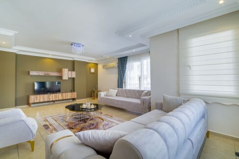 4 Bedroom Brand New Furnished Penthouse For Sale In Alanya