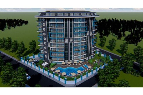Brand New Apartment For Sale In Alanya With Payment Plan