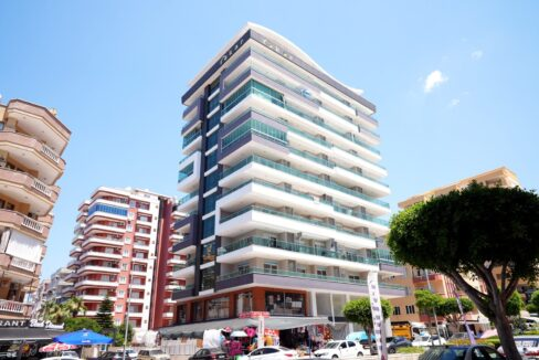 Brand New Furnished Duplex Penthouse With Seaview For Sale In Alanya