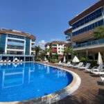 Fully Furnished Flat For Sale In Trio City Blue Oba Alanya