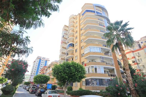 Furnished Apartment For Sale In Alanya Close To Beach