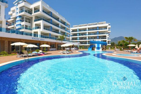 Furnished Duplex Penthouse For Sale In Crystal River Residence Alanya