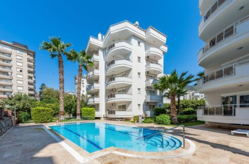 Furnished Spacious Apartment For Sale In Alanya Cikcilli
