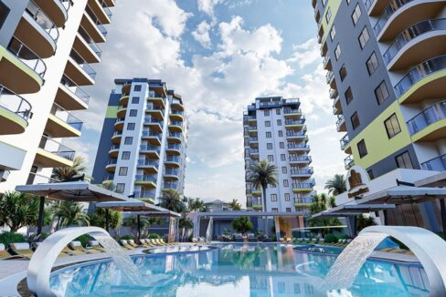 New Project Rising In Alanya Mahmutlar With Payment Plan
