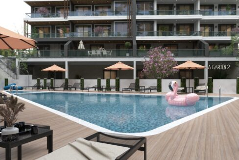 New Project Via Garden Residence For Sale In Alanya Oba