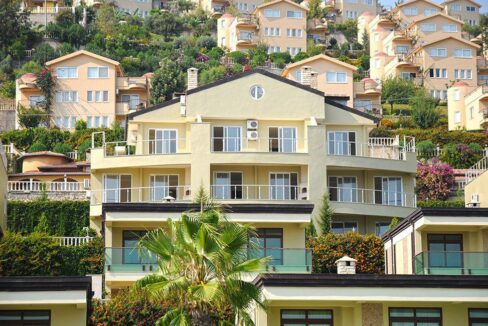 The Biggest Goldcity Villa For Sale In Alanya With Direct Seaview