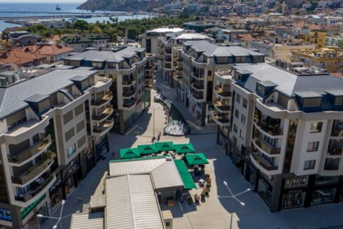 A Nice Flat 100 M. To The Beach 50 M To The Shopping Mall For Sale In Alanya