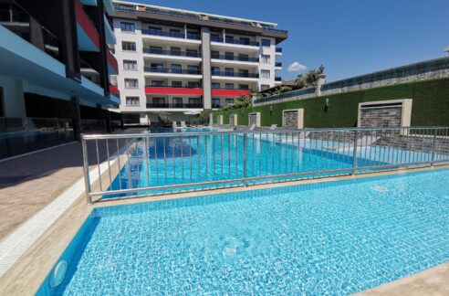Brand New Furnished Residential Apartment For Sale In Alanya Kestel