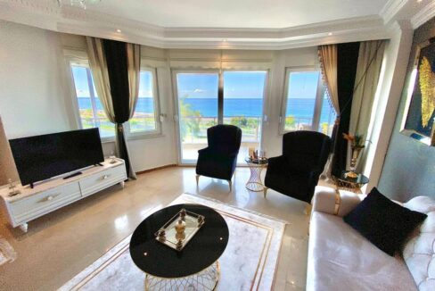 Exclusive Apartment For Sale In Alanya With Direct Ocean View