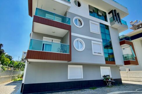 Four Bedroom Duplex Flat For Sale In Alanya With Seaview