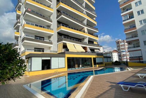 Furnished Apartment For Sale In Etalon Homes Alanya
