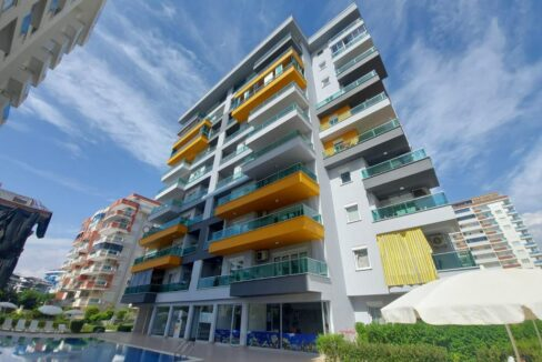 New Furnished Two Bedroom Flat For Sale In Alanya