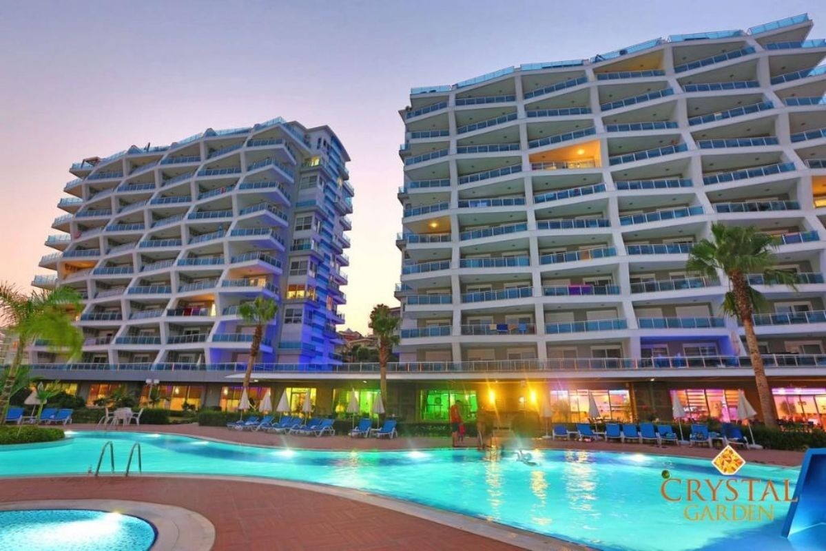 Specific 3 Rooms Flat for Sale in Alanya Cikcilli